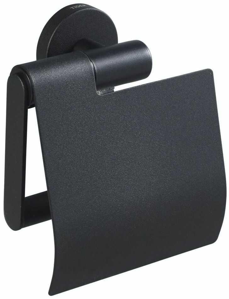 Uchwyt na papier toaletowy z pokrywą BOSTON TIGER