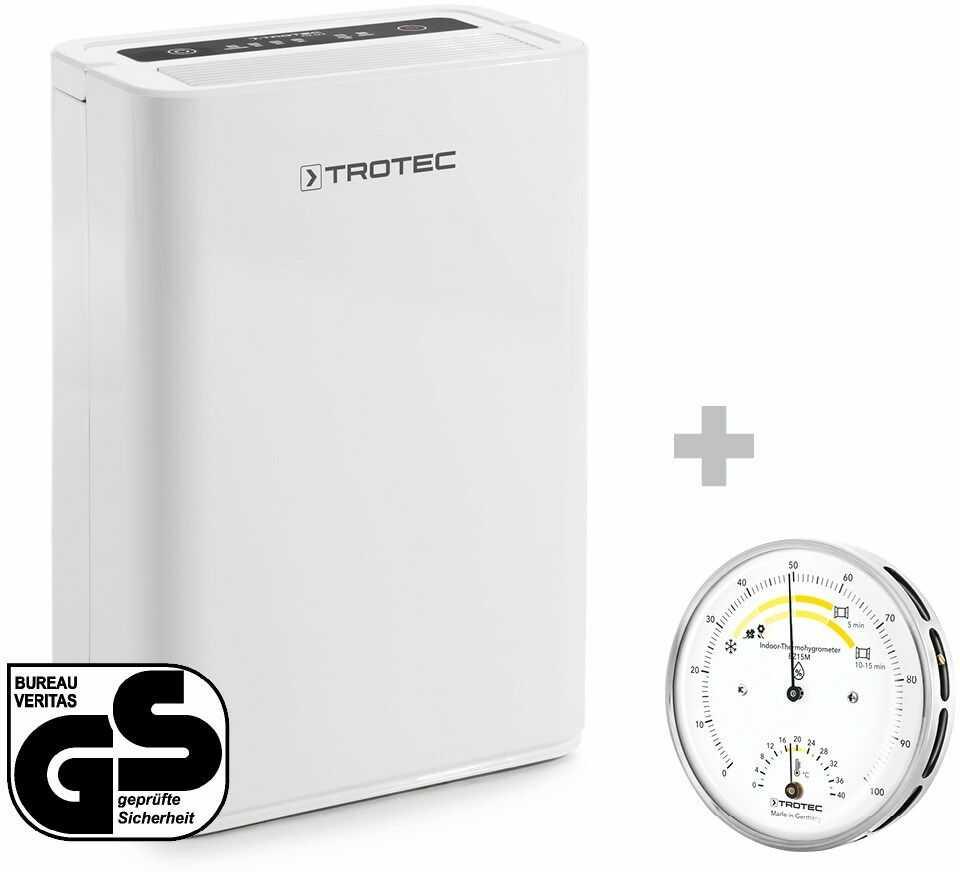 Osuszacz powietrza TTK 52 E + Termohigrometr BZ15M