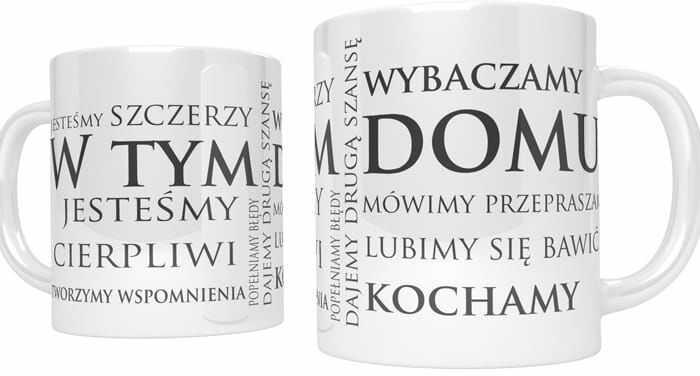 Kubek ceramiczny dla rodziny