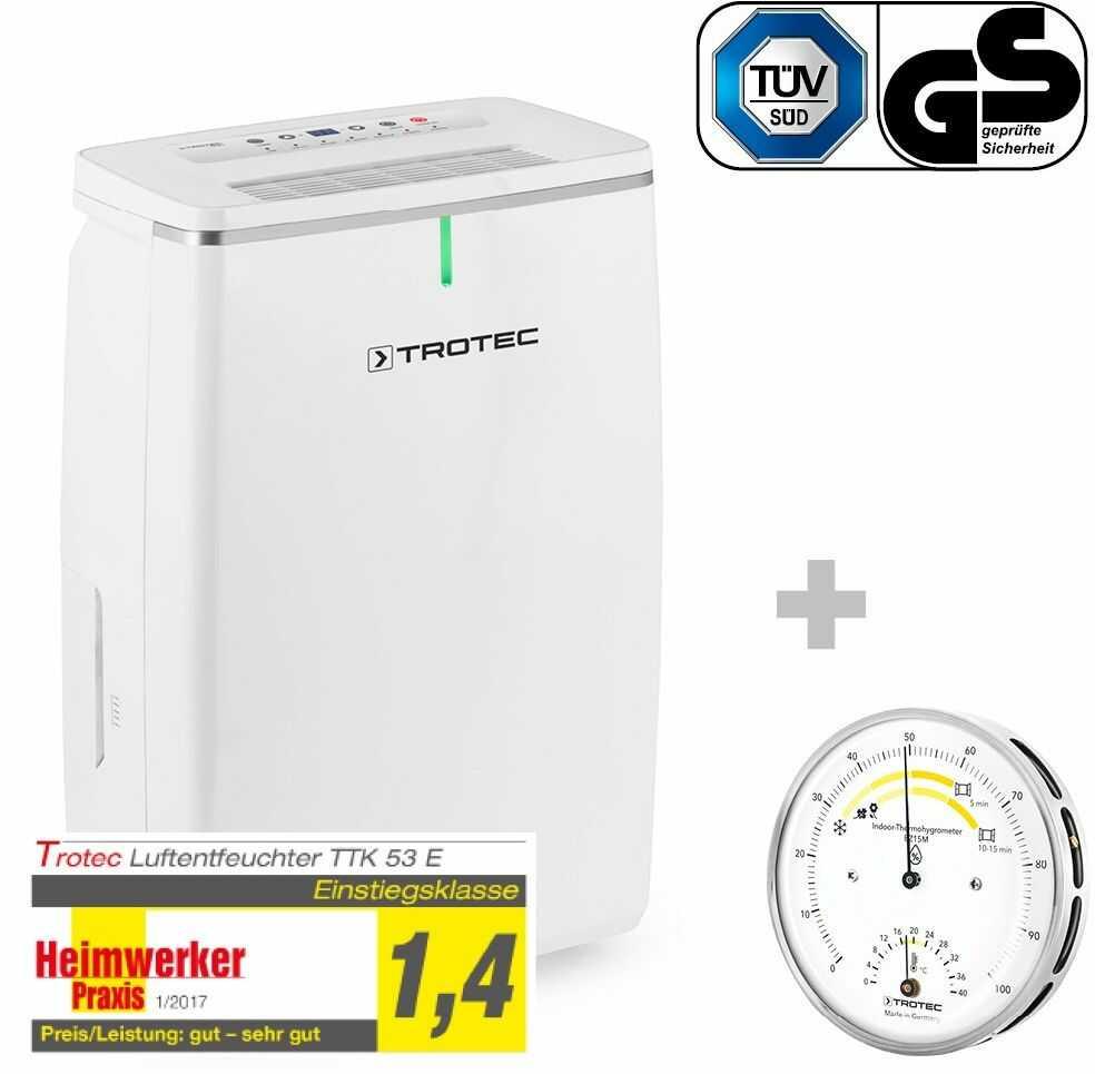 Osuszacz powietrza TTK 53 E + Termohigrometr BZ15M