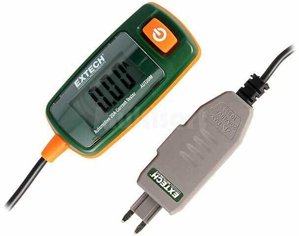 Miernik samochodowy EXTECH tester prądu 68g 48VDC Dł.przew:0,5m