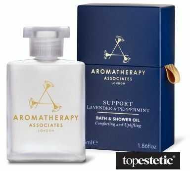 Aromatherapy Associates Support Lavender & Peppermint Bath & Shower Oil Lawendowo-miętowy olejek do kąpieli 55 ml