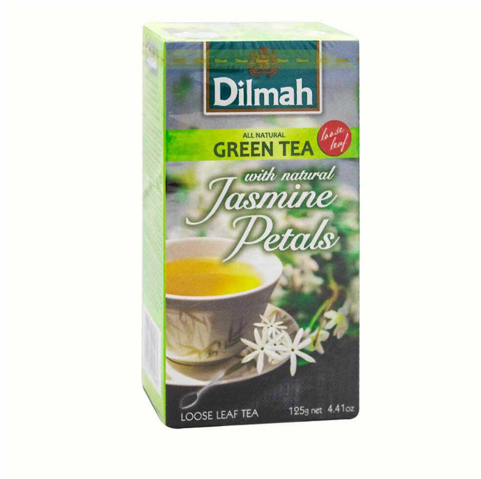 Dilmah Green Tea Jasmine 125 g liściasta