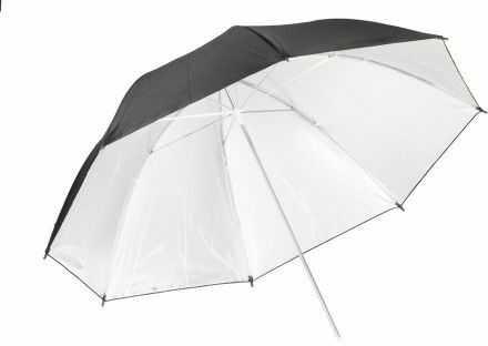 Quadralite parasolka srebrna 91 cm