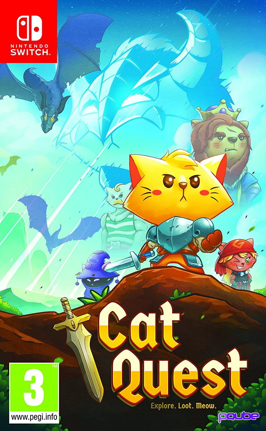 Gra Cat Quest (Switch)