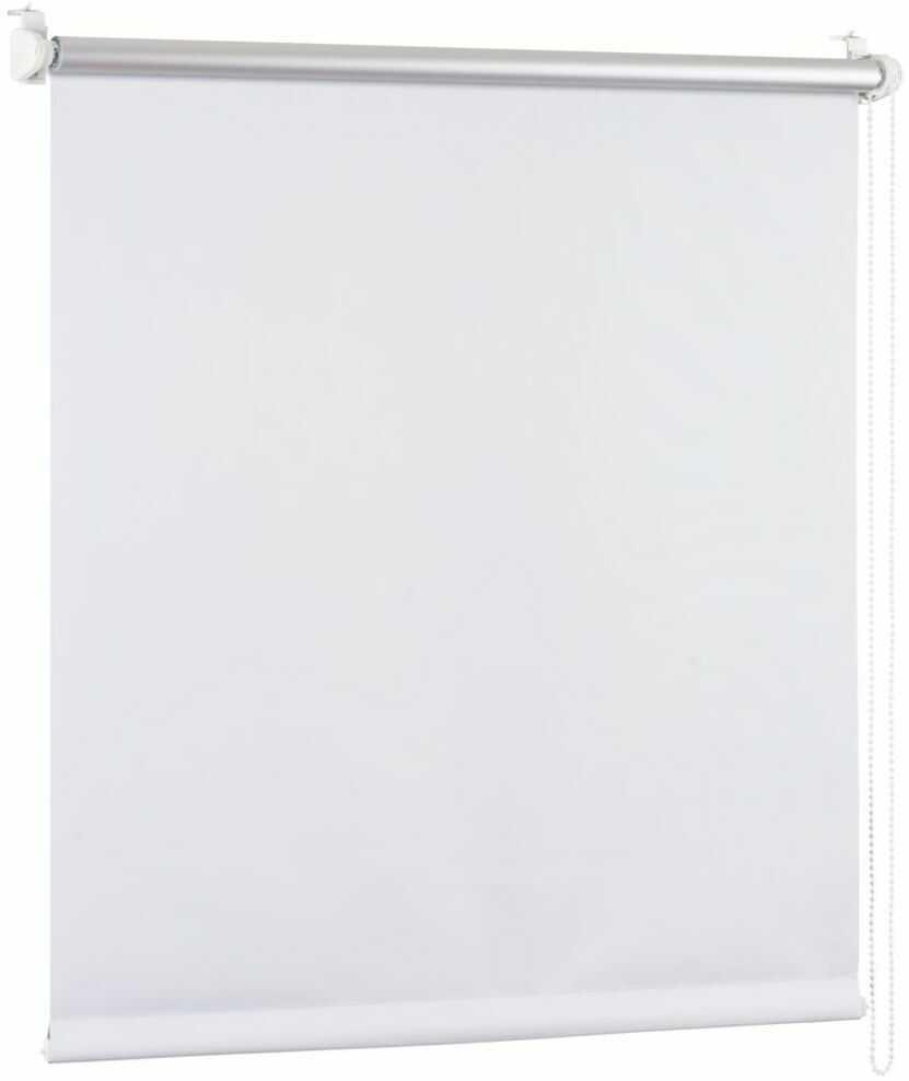 Roleta zaciemniająca BLACKOUT 37 x 150 cm biała termoizolacyjna
