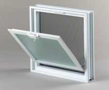 Okno wentylacyjne Went 2/2 do pustaków szklanych luksferów