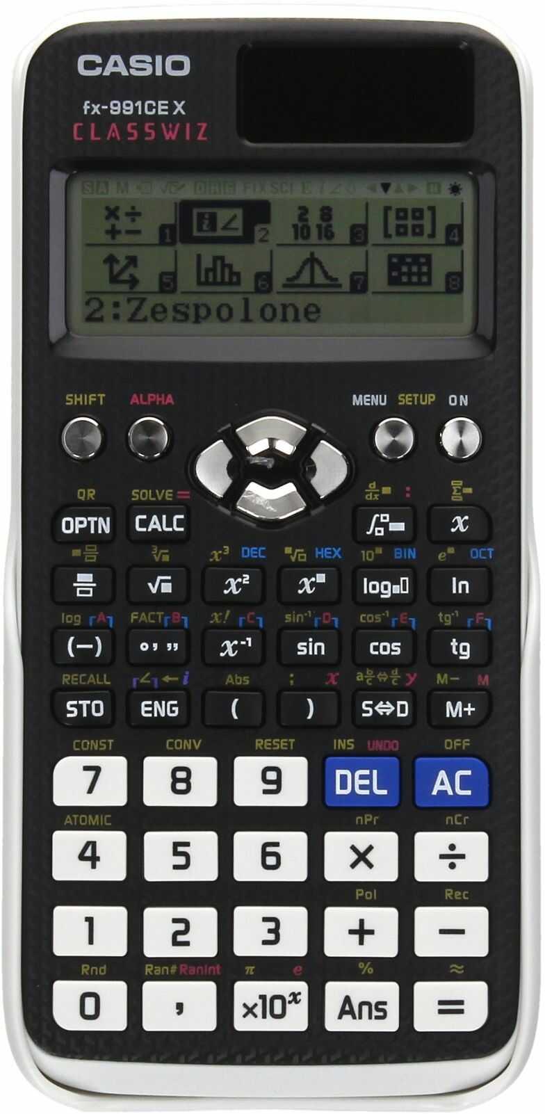 Kalkulator naukowy FX991CEX CLASSWIZ Casio