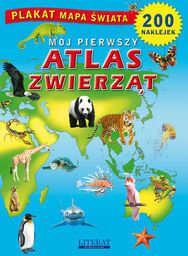 Mój pierwszy atlas zwierząt ZAKŁADKA DO KSIĄŻEK GRATIS DO KAŻDEGO ZAMÓWIENIA