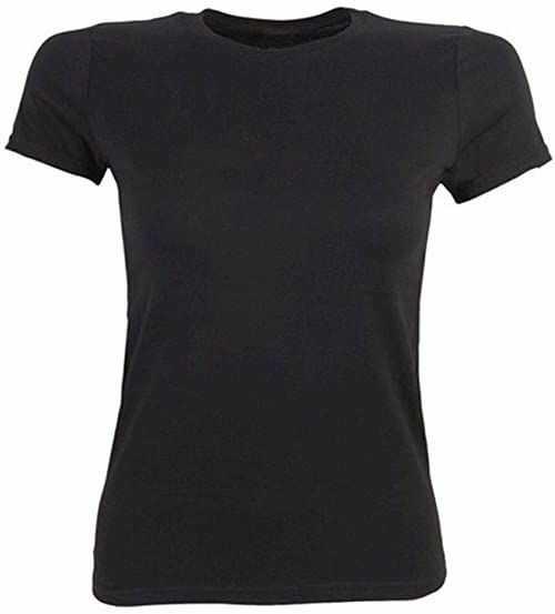 HKM Dorośli T-shirt damski 3000 czerwony spodnie, 3000 czerwony, M