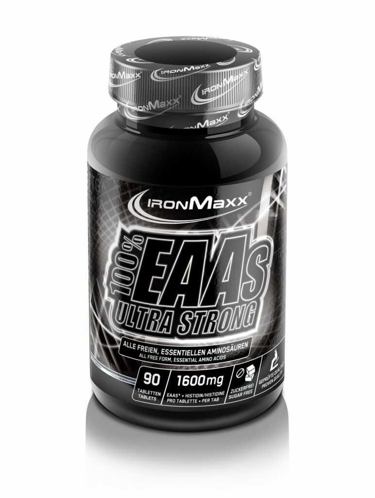 Ironmaxx 100% EAA Ultra Strong 90 tab