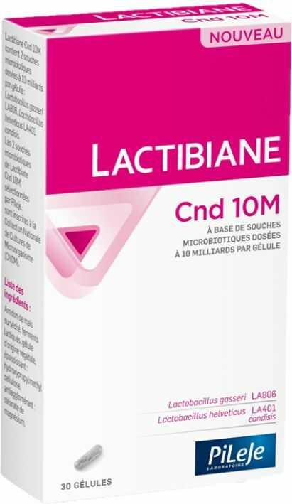 PiLeJe LACTIBIANE Cnd 10 M (Probiotyk - Wsparcie przy Kandydozie) - 30 kapsułek