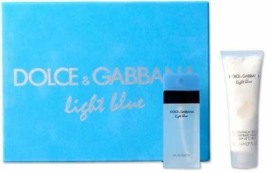 Dolce Gabbana Light Blue - damska EDT 25 ml + mleczko do ciała 50 ml