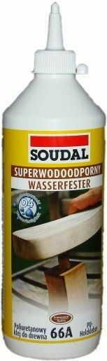 Poliuretanowy klej do drewna Soudal 66A - 250g