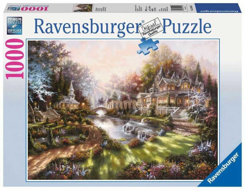 Puzzle 1000 elementów W świetle poranka (GXP-761304)