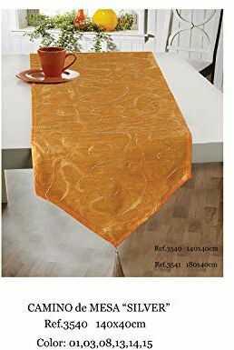 Duffi Home bieżnik na stół, pomarańczowy, 140 x 40 cm