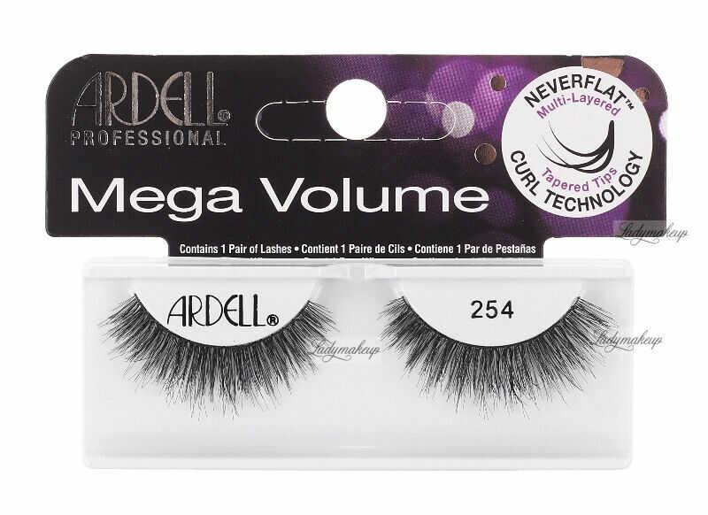 ARDELL - Mega Volume - Sztuczne rzęsy na pasku - 254