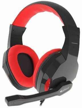 Słuchawki GENESIS Argon 100 Czerwony. > DARMOWA DOSTAWA ODBIÓR W 29 MIN DOGODNE RATY