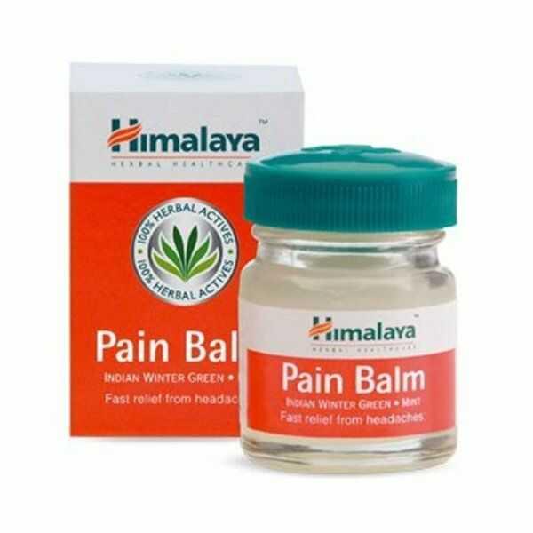 Balsam Przeciwbólowy Pain Balm Strong, Himalaya