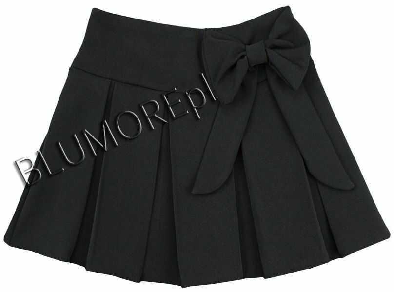 Czarna spódniczka dla dziewczynki 122- 158 Luiza
