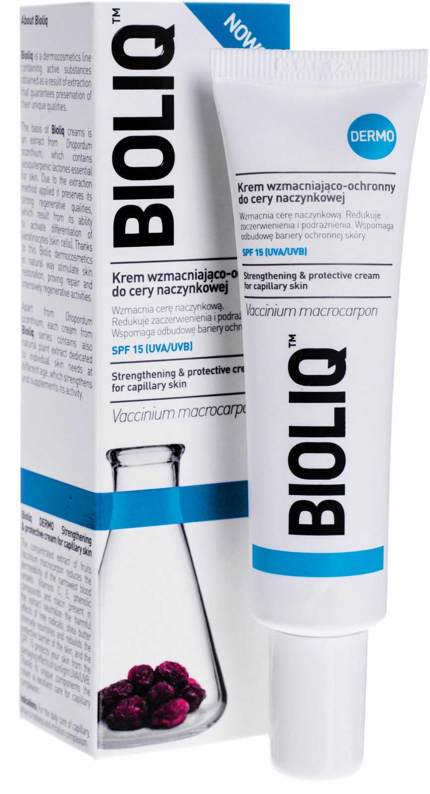 Bioliq Dermo Krem wzmacniająco-ochronny do cery naczynkowej 30 ml