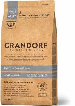 Grandorf Rabbit & Sweet Potato Adult All Breeds Karma Dla Psów Dorosłych Wszystkich Ras 1 kg