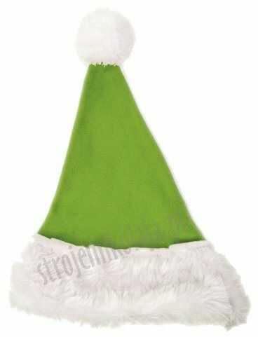 Awokado czapka Mikołaja dla dzieci