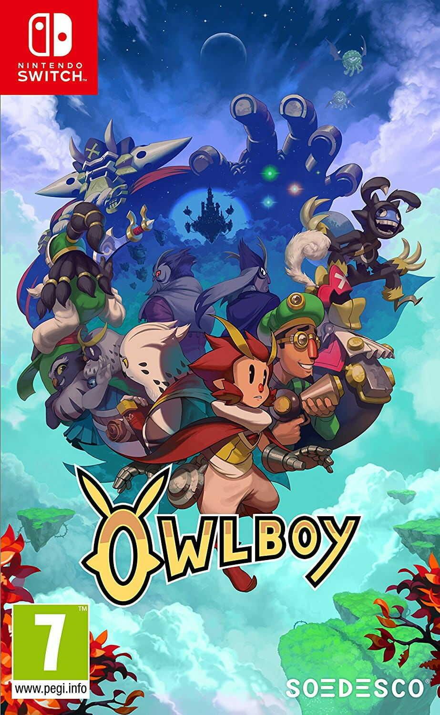 Gra OwlBoy (Switch)