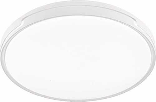 Fischer & Honsel Lampa sufitowa 1x LED 34W biała, akryl biały