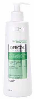 Vichy Dercos Anti-Dandruff szampon przeciwłupieżowy do włosów normalnych i przetłuszczających się 390 ml