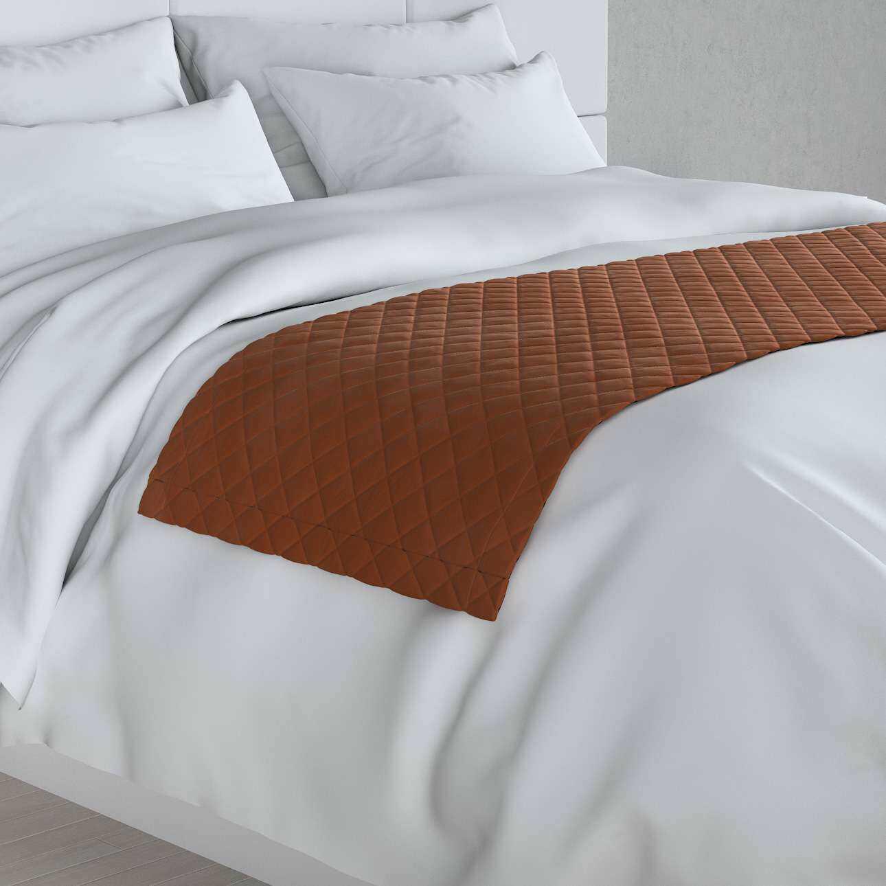 Narzuta hotelowa bieżnik Velvet 60x200cm, karmelowy, 60 x 200 cm, Velvet