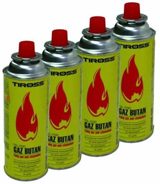 4 x GAZ NABÓJ GAZOWY / KARTUSZ 227g TYP MSF-1a TS-700