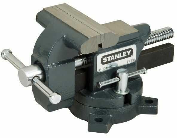 Imadło ślusarskie Stanley obrotowe 100 mm