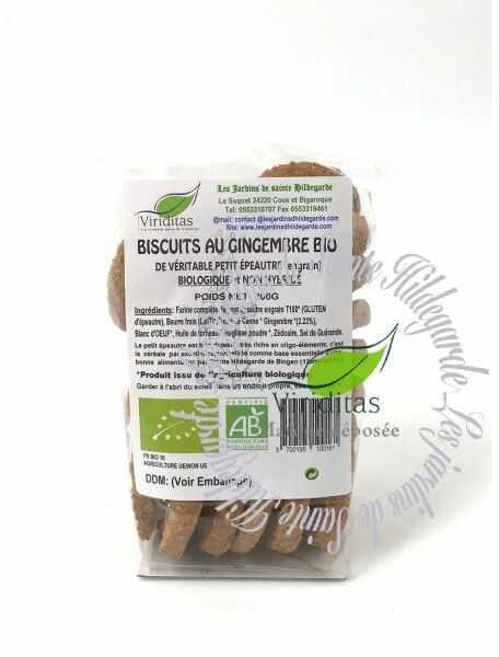Ciasteczka imbirowe z samopszy Bio 200 g*, - 00037