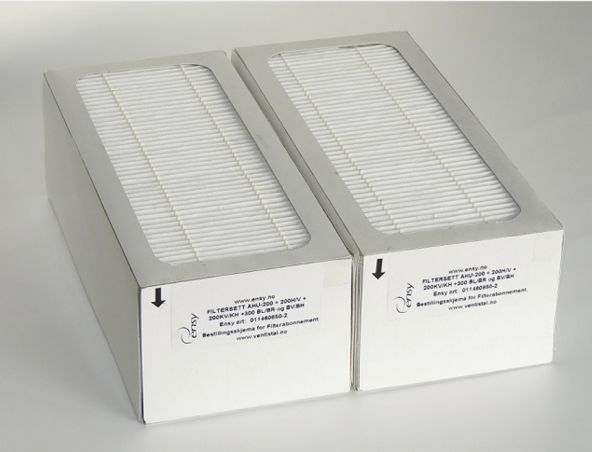 Filtr F7 z węglem aktywnym do rekuperatora ściennego Ensy AHU 350/400 - Filtry - Rekuperatory powietrza