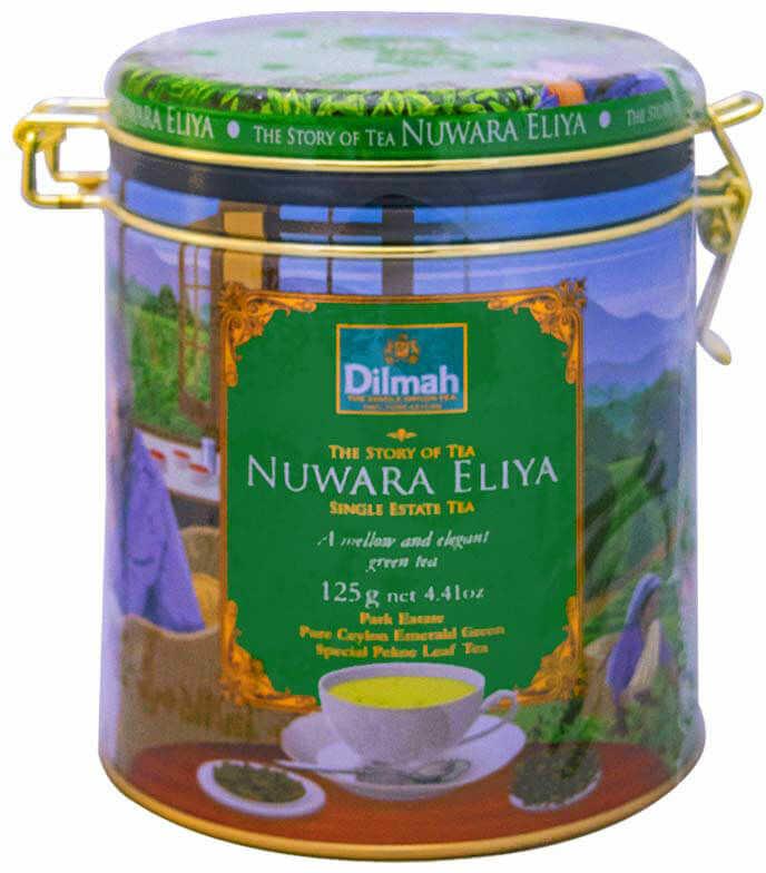 Dilmah Nuwara Eliya 125 g liściasta puszka