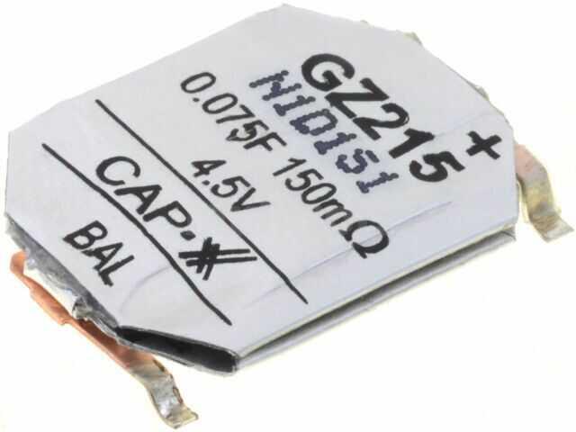 Kondensator elektrolityczny CAP-XX superkondensator SMD 0,075F 4,5V