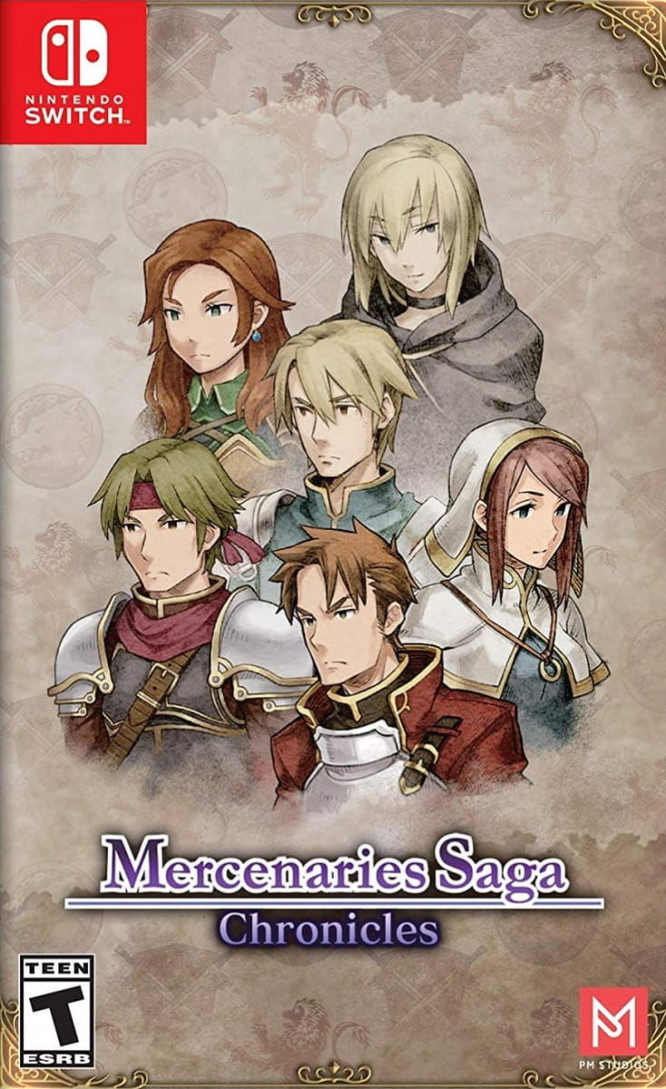 Gra Mercenaries Saga Chronicles (Switch)