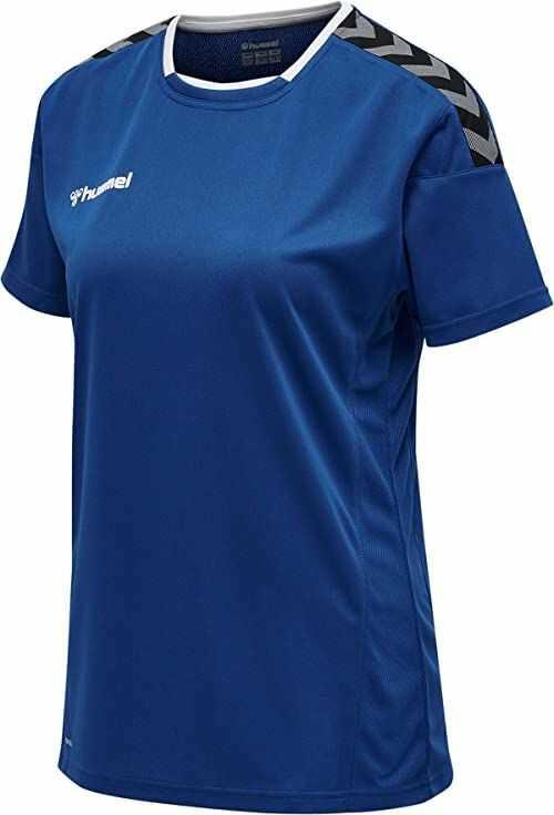 Hummel damska koszulka, koszulka z długim rękawem i wzorem True Blue