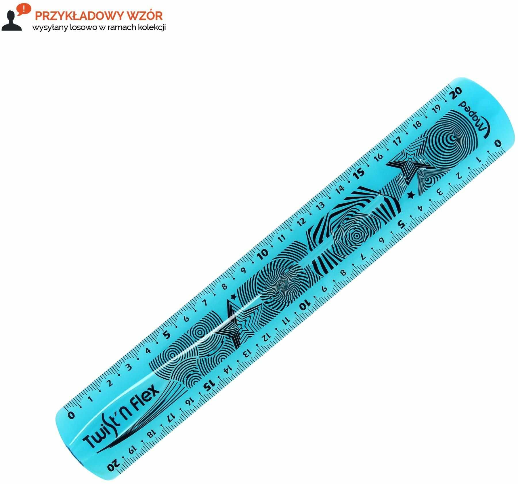 Linijka 20cm niełamliwa Flex Maped 279210