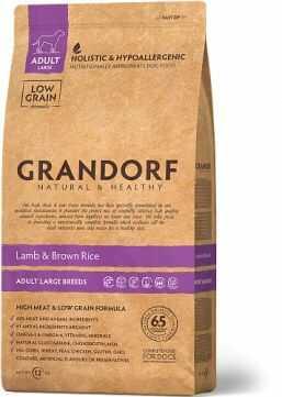 Grandorf Lamb & Brown Rice Adult Large Breeds Karma Dla Dorosłych Psów Dużych Ras 3 kg