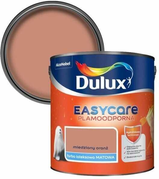Farba Dulux EasyCare miedziany oranż 2,5 l