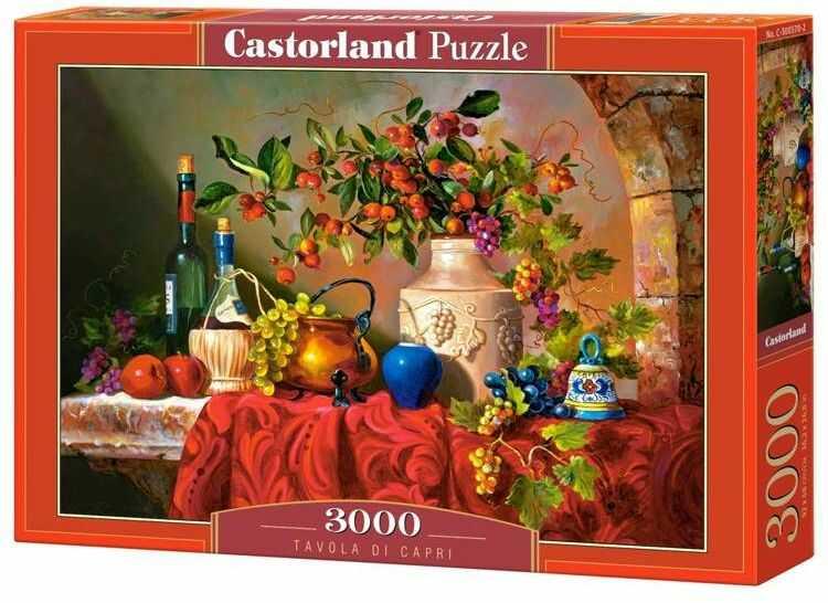 Puzzle 3000 Tavola di Capri CASTOR - Castorland