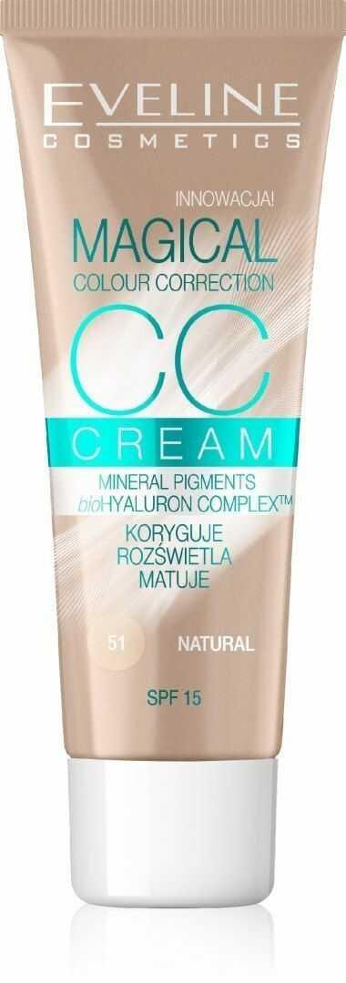 Eveline Eveline Fluid Magical CC Cream nr 51 Naturalny 30ml