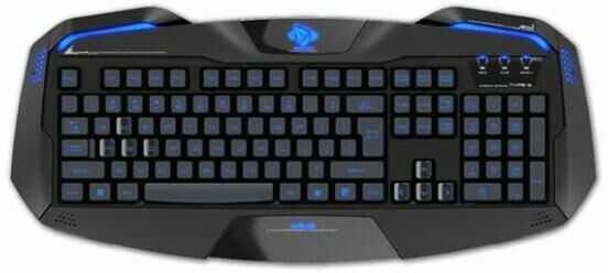E-BLUE Auroza Gaming (czarna)