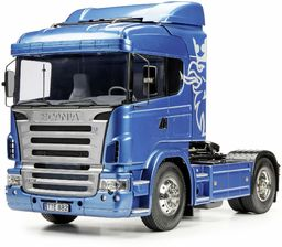 TAMIYA 56318 1:14 Scania R470 Highline 4x2 BS, zestaw do montażu, ciężarówka RC, zdalnie sterowana, ciężarówka, zabawka konstrukcyjna, modelarstwo, majsterkowanie