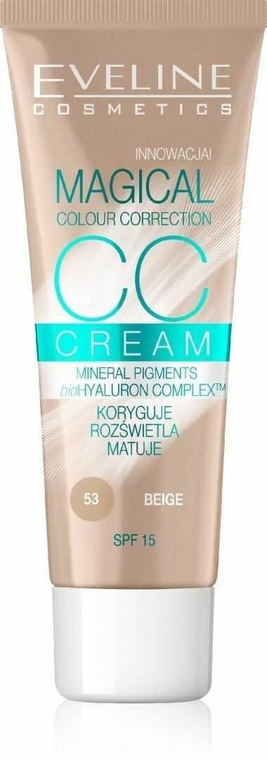 Eveline Eveline Fluid Magical CC Cream nr 53 Beż 30ml