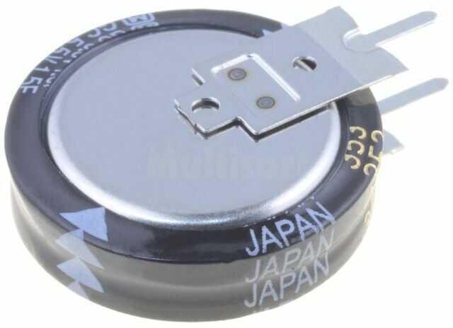 Kondensator elektrolityczny PANASONIC THT 1,5F 5,5V O21x5,5mm -25 70 C