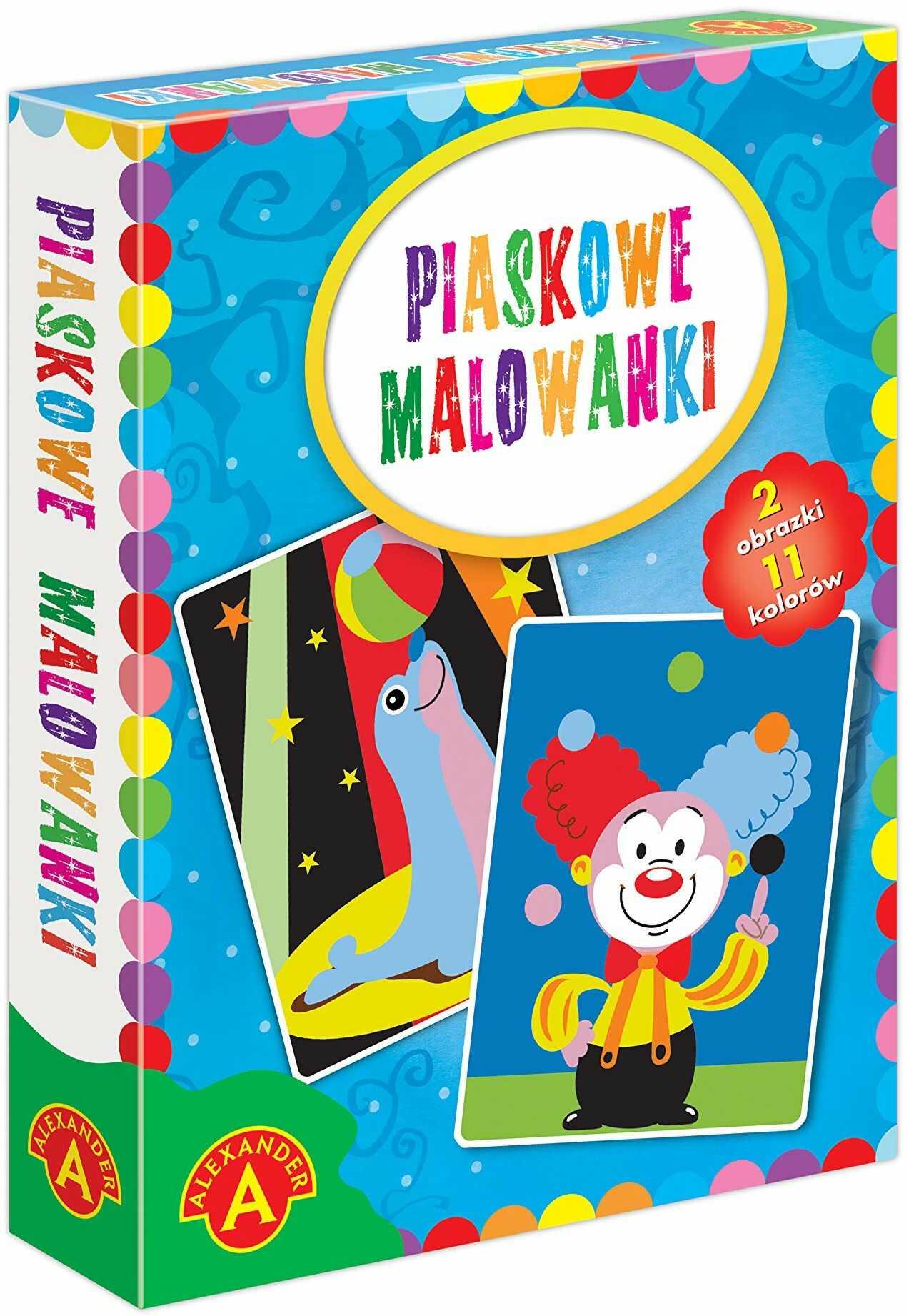 Z.P. Alexander 2463 Piaskowe Malowanki-Foka/Klaun
