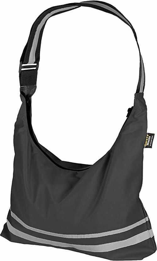 Safety Maker składana torba na zakupy, czarna, jeden rozmiar